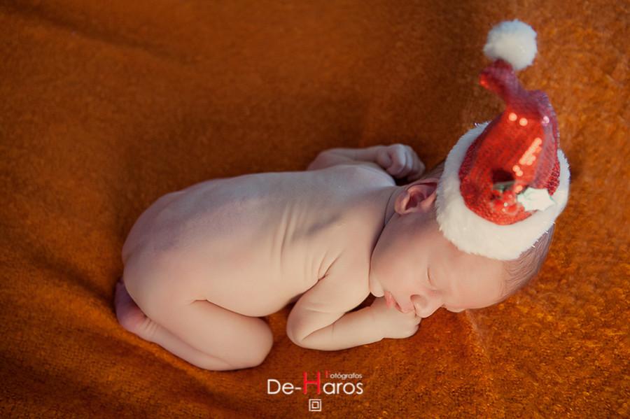 Reportajes de Navidad de recién nacidos