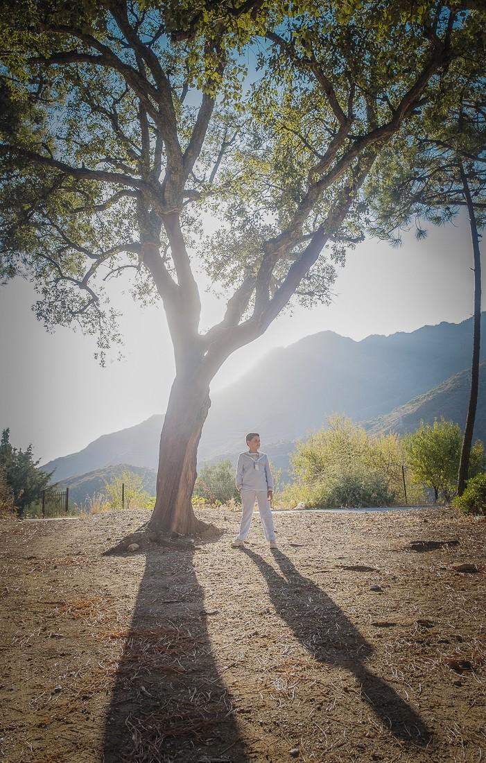 Fotografías de post comunión en la Sierra