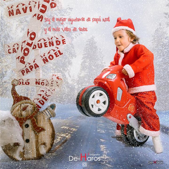 Reportajes originales de Navidad, fotografía De Haros.