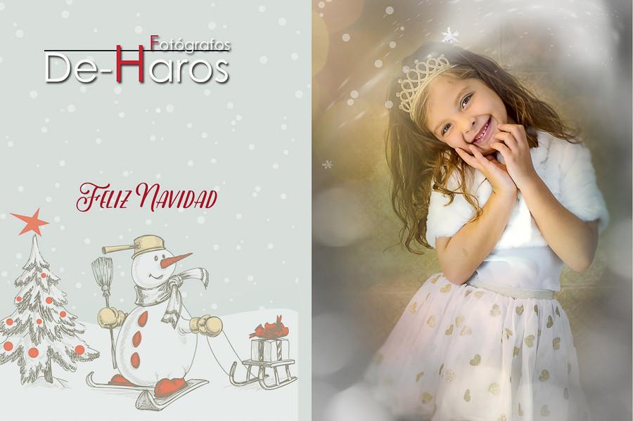 La Navidad en De Haros estudio fotográfico