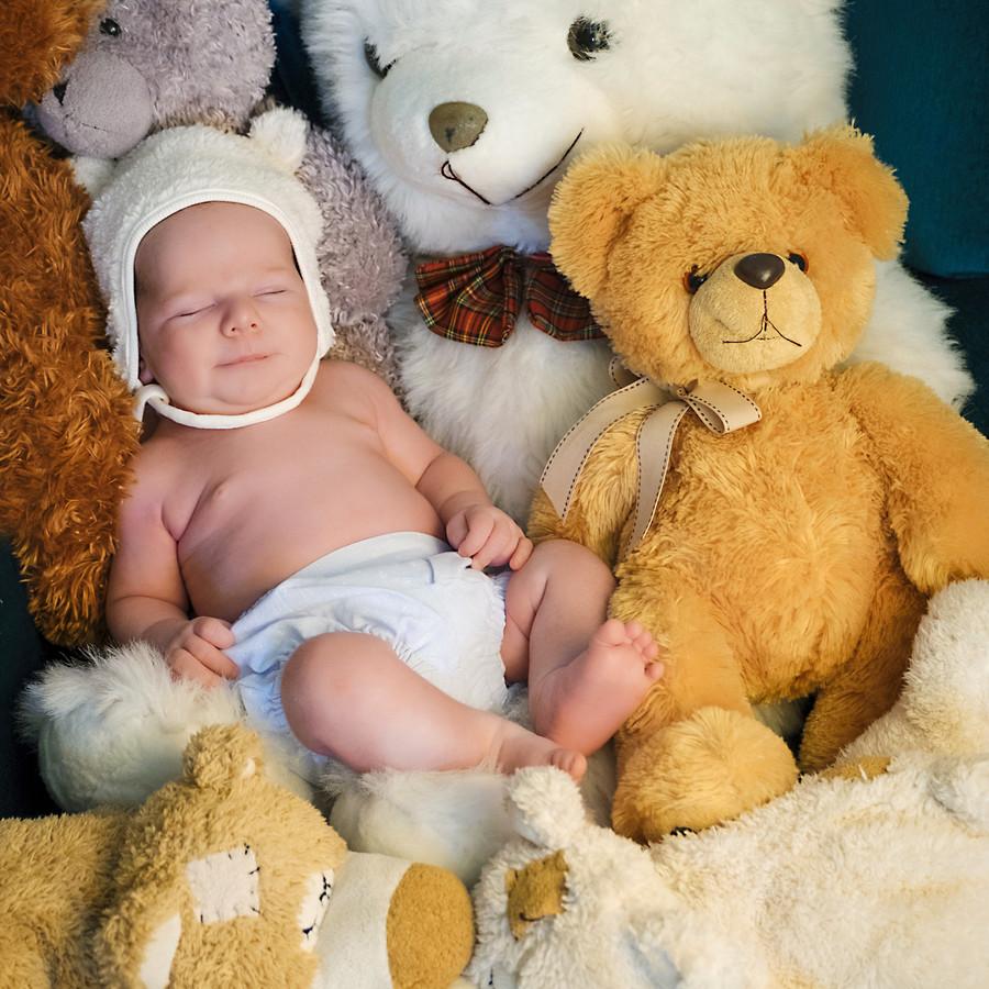 Fotos de Recién nacidos. Estudio fotográfico De-Haros