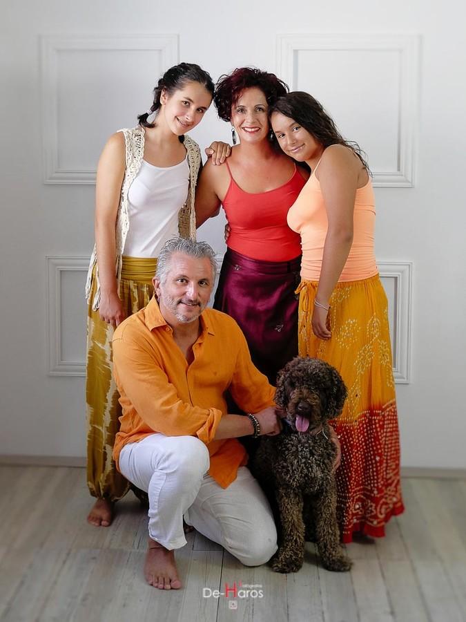 Fotografías naturales de familia